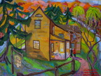 Autumnl at Belin House-16x20,oil,  2008, SOLD