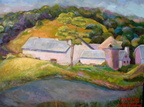 Brandywine Creek Barn,16x20,oil, 2007,SOLD