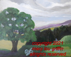 Top of the Hill Redoubt-Valley Forge Na Park-20x16-acrylic-6-2015