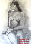 Grace-figure study II-charcoal -18x24-11-2015
