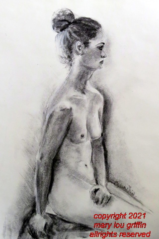 Figure-Lovely Emily, 18x24 charcoal 3-2017 002.JPG