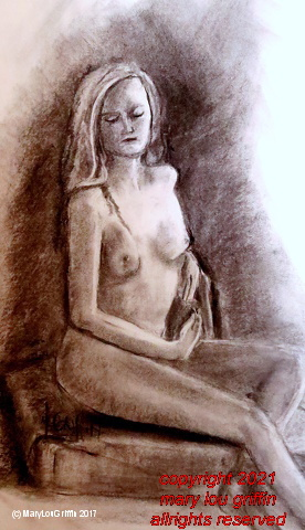 Emily seated-figure study 6, charcoal,18x24-5-2017.JPG